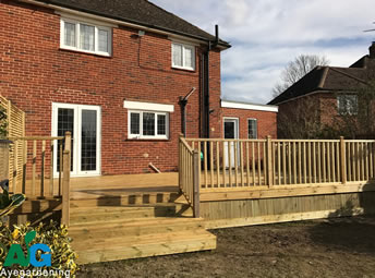 Decking-Softwood-Balustrade