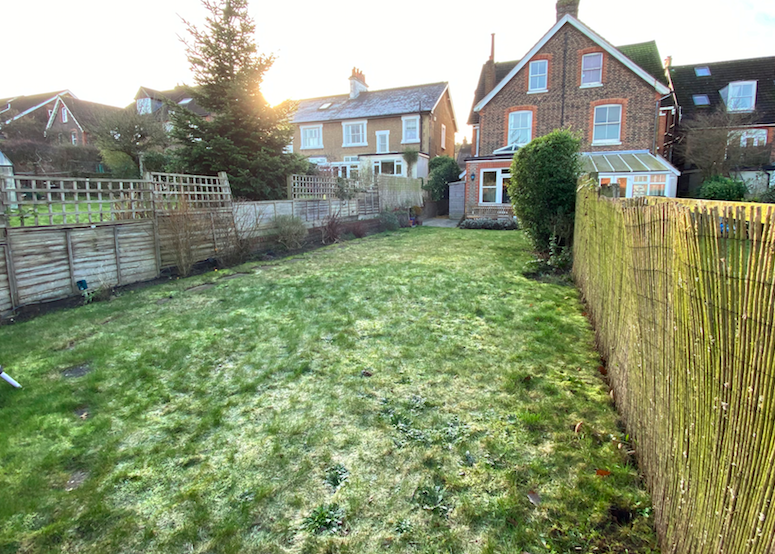 Reigate before landscaping