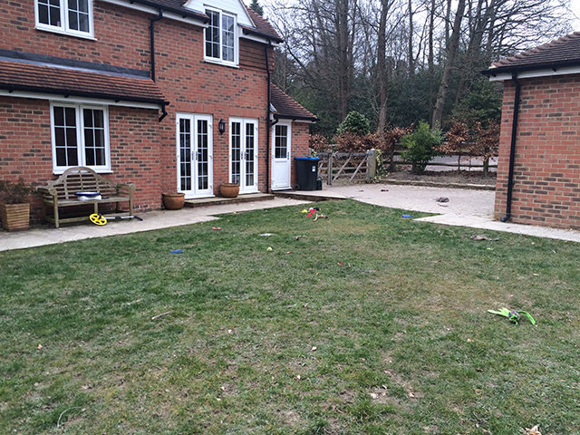before crawley landscaping